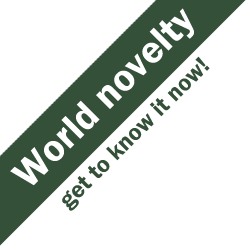 World novelty - get to know it now!