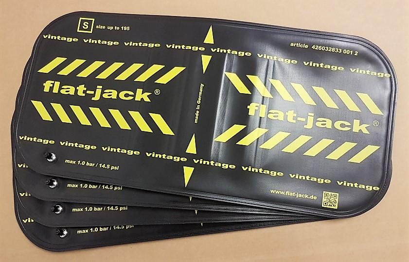 Flat-Jack Oldtimer-Reifen schonen mit Luftkissen