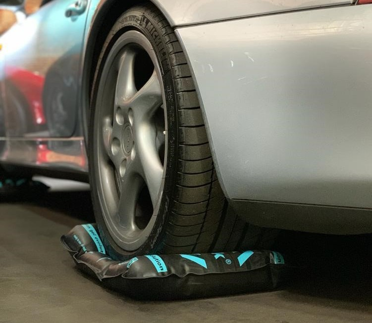 flat-jack® Reifen-Gelkissen evolution gel L