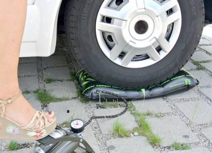 flat-jack® Reifen-Luftkissen Camper